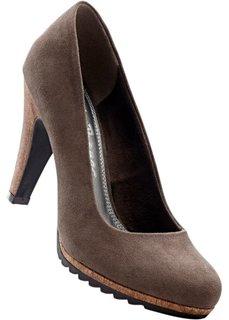 Туфли (темно-серый) Bonprix