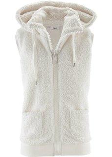 Флисовый жилет (цвет белой шерсти) Bonprix