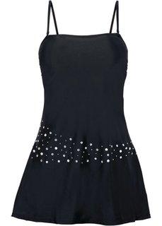 Купальное платье (черный) Bonprix