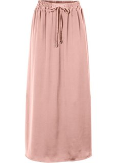 Макси-юбка с разрезами (розовый) Bonprix