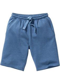 Трикотажные шорты стандартного покроя (синий джинсовый) Bonprix