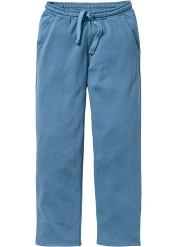 Трикотажные брюки стандартного покроя (синий джинсовый)
