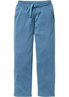 Трикотажные брюки стандартного покроя (синий джинсовый) Bonprix