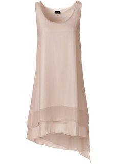 Шифоновое платье (бежевый) Bonprix