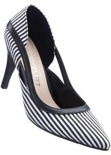 Туфли (черный/белый) Bonprix