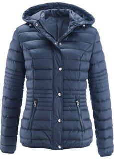 Стеганая куртка на ватной подкладке (темно-синий) Bonprix