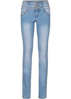 Стройнящие джинсы-стретч SLIM, низкий рост (K) (нежно-голубой) Bonprix