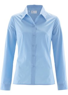 Классическая блузка (нежно-голубой) Bonprix
