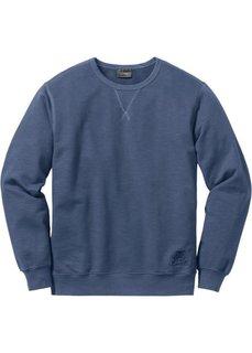Свитшот Regular Fit (темно-синий) Bonprix