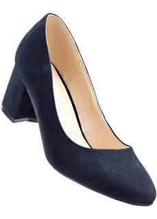 Туфли в двух вариантах ширины стопы, нормальная стопа (темно-синий) Bonprix