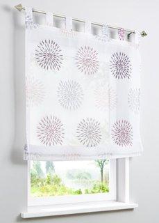 Римская штора Элла, петли (белый/различные расцветки) Bonprix