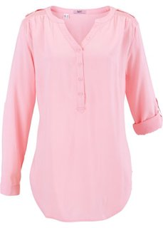 Туника с длинным рукавом (розовая пудра) Bonprix