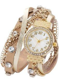 Наручные часы-браслеты Майри (золотистый) Bonprix