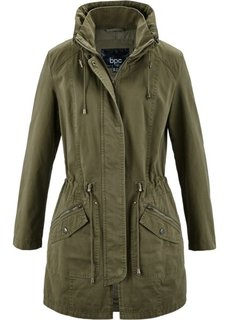 Куртка-парка (зеленый хаки) Bonprix
