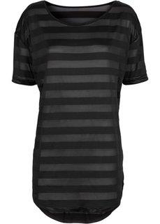 Пляжная футболка (черный) Bonprix