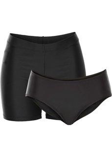 Купальные плавки (2 шт.) (черный) Bonprix