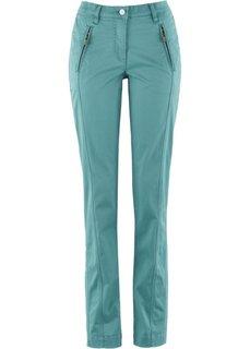 Эластичные брюки Chino (голубой) Bonprix