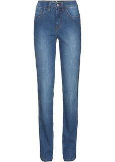 Прямые стрейчевые джинсы, низкий рост (K) (синий) Bonprix