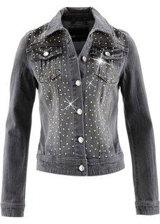 Джинсовая куртка (серый деним) Bonprix