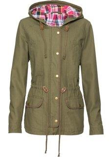 Демисезонная куртка (зеленый хаки) Bonprix