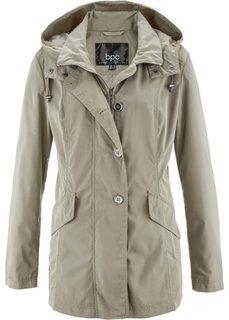 Легкая куртка с капюшоном (новый хаки) Bonprix