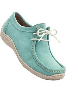 Замшевые туфли (бирюзовый) Bonprix
