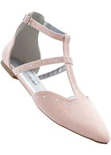 Балетки (розовый) Bonprix
