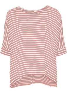 Туника в полоску (розовый/белый в полоску) Bonprix