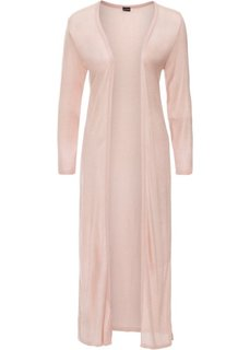 Длинный вязаный кардиган (винтажно-розовый) Bonprix