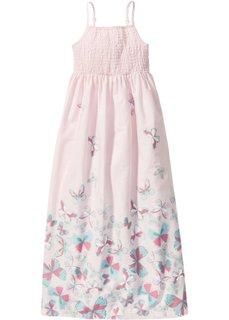 Макси-платье на бретеля-спагетти (нежно-розовый) Bonprix