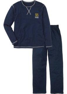 Мужская пижама (темно-синий) Bonprix