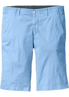 Стрейтчевые шорты-бермуды Regular Fit (нежно-голубой) Bonprix