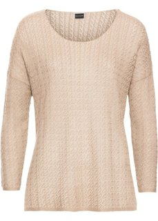 Летний пуловер (нежно-абрикосовый) Bonprix
