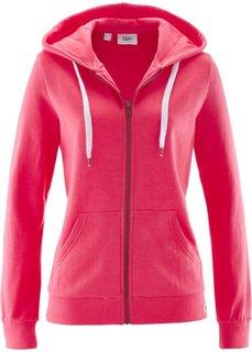 Трикотажная куртка (ярко-розовый гибискус) Bonprix