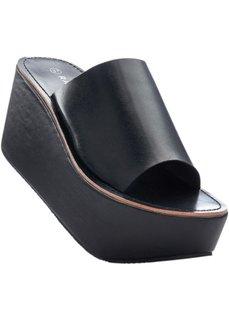 Пантолеты на платформе (черный) Bonprix