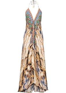 Платье (белый с рисунком) Bonprix