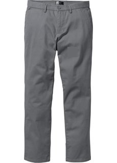 Чиносы Regular Fit, низкий + высокий рост (U + S) (серый) Bonprix