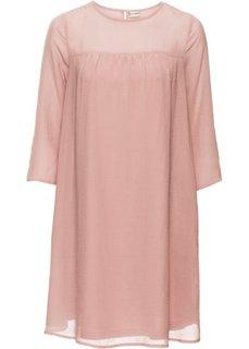 Шифоновое платье (винтажно-розовый) Bonprix
