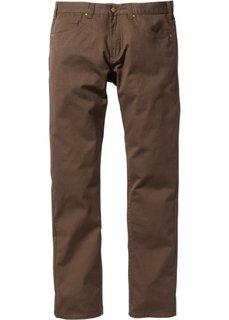 Прямые классические брюки, cредний рост U + S (коричневый) Bonprix