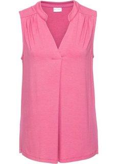 Блузка-топ (ярко-розовый матовый) Bonprix