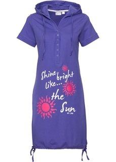 Трикотажное платье (лиловый) Bonprix