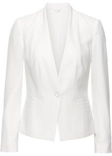 Пиджак (цвет белой шерсти) Bonprix