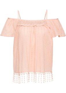 Туника (винтажно-розовый) Bonprix