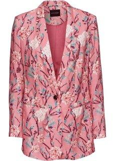 Жакет (пепельно-розовый в цветочек) Bonprix