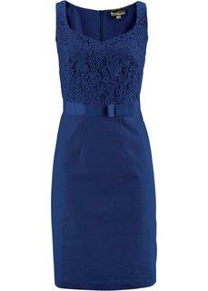 Льняное платье (ночная синь) Bonprix