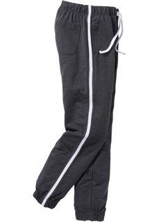 Трикотажные брюки  Regular Fit (антрацитовый меланж) Bonprix