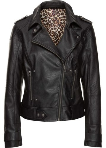 Байкерская куртка (черный)