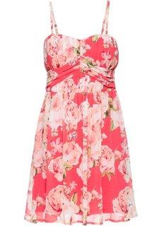 Шифоновое платье (нежный ярко-розовый в цветочек) Bonprix