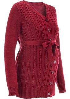 Мода для будущих мам: кардиган (цвет вечерней зари) Bonprix