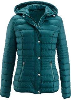 Стеганая куртка на ватной подкладке (сине-зеленый) Bonprix